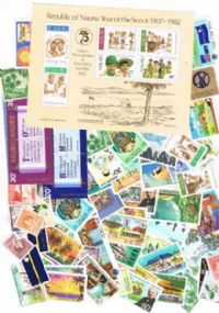 100 different Nauru packet